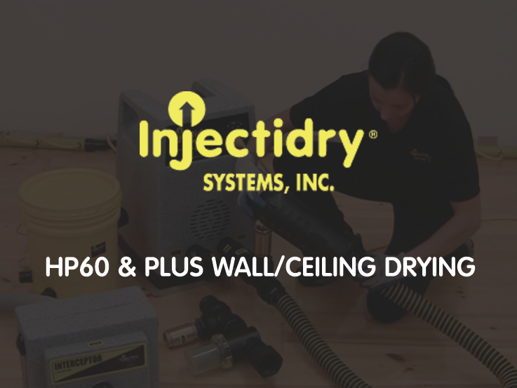 HP60 and Plus Wall and Ceiling Drying Educational Video