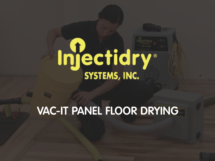 Vac-It Panel Floor Drying Educational Video